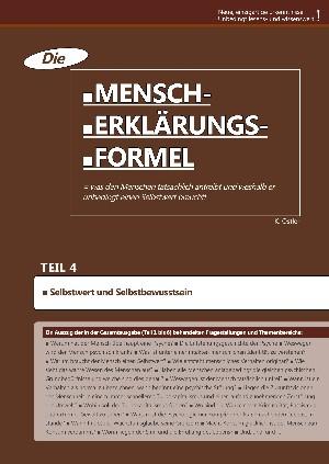 K. Ostler: Die Mensch-Erklärungsformel (Teil 4)