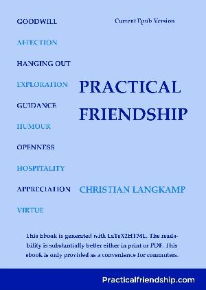 Christian Langkamp: Practical Friendship